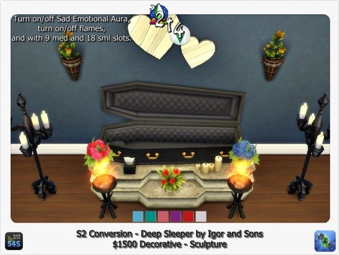Sims 4 Sims 2 Nightlife Deep Sleeper by Igor and Sons conversion at Sims 4 Studio