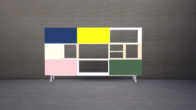 Kast 3 HU sideboard at Meinkatz Creations image 14414 670x377 Sims 4 Updates