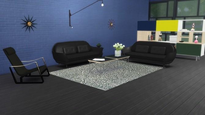 Sims 4 Cité Armchair at Meinkatz Creations
