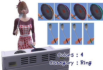 Frying pan set at A luckyday image 1472 Sims 4 Updates