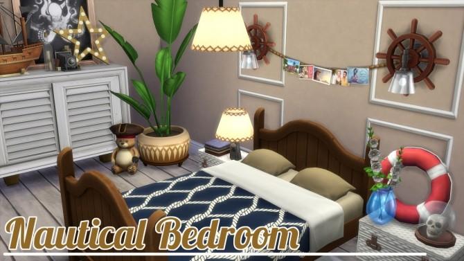 Sims 4 Nautical Bedroom at Jool's Simming