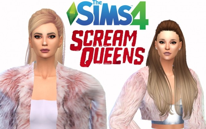 Sims 4 Scream Queens Pack at TS4 Celebrities Corner