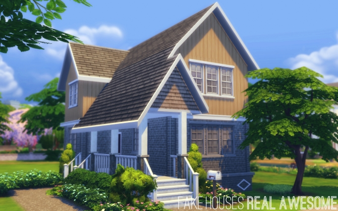 The Barnes House At Fake Houses Real Awesome 187 Sims 4 Updates