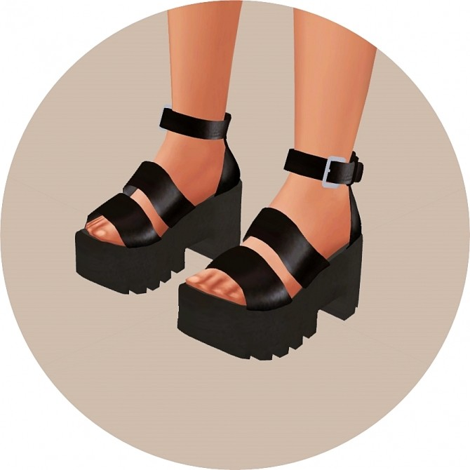Chunky Sandals At Marigold 187 Sims 4 Updates