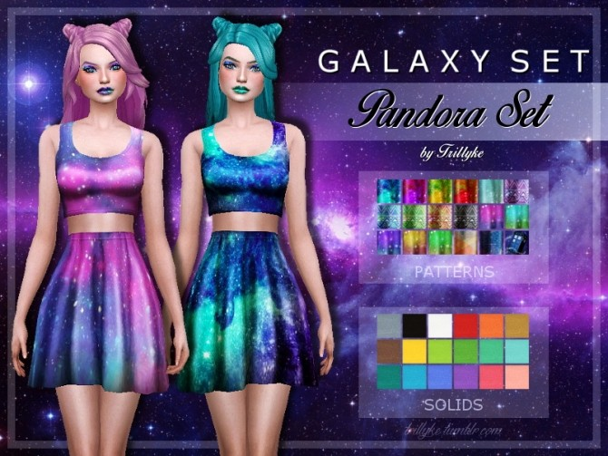 Galaxy Set At Trillyke 187 Sims 4 Updates
