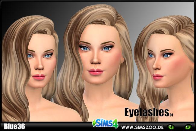 Sims 4 Eyelashes 01 by Blue36 at Blacky's Sims Zoo