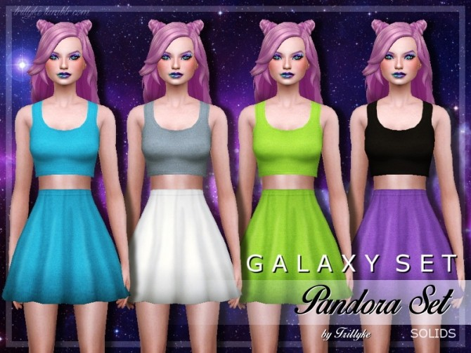 Galaxy Set At Trillyke 187 Sims 4 Updates