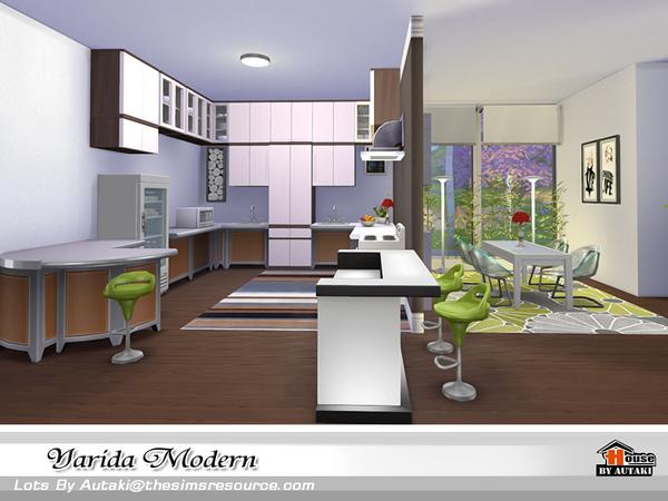 Yarida Modern house by autaki at TSR image 1640 Sims 4 Updates