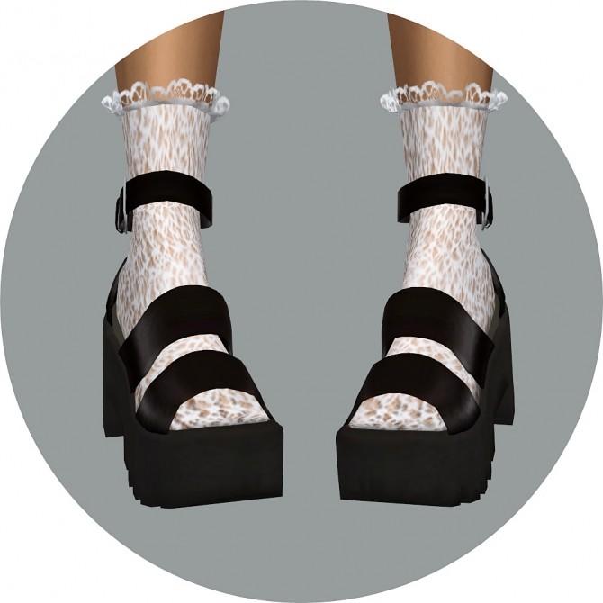 Sims 4 Frill Lace Socks at Marigold