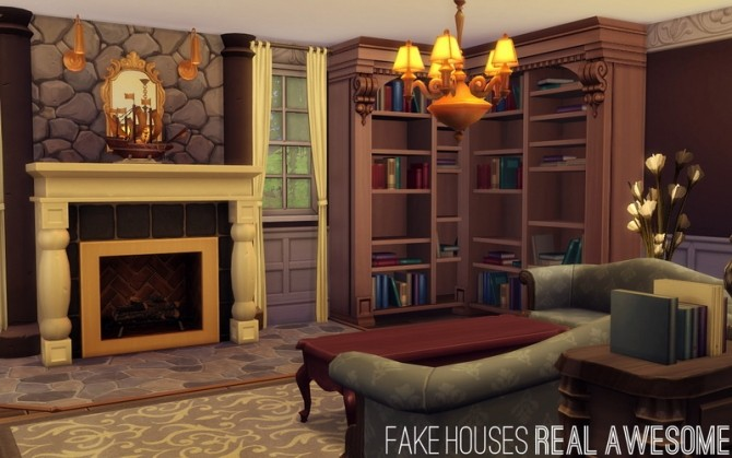 Sims 4 Extravaganza: The August at Fake Houses Real Awesome
