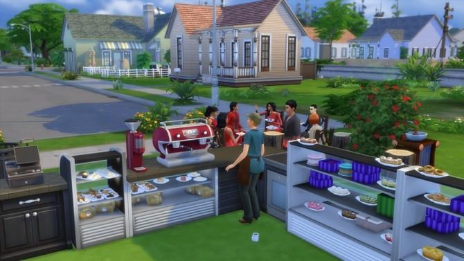 Sims 4 Café Basics only at Hafuhgas Sims Geschichten