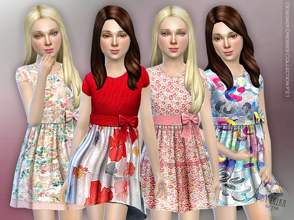 Sims 4 Designer Dresses Collection P21 by lillka at TSR