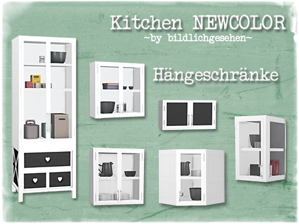 Sims 4 Kitchen NEWCOLOR at Akisima