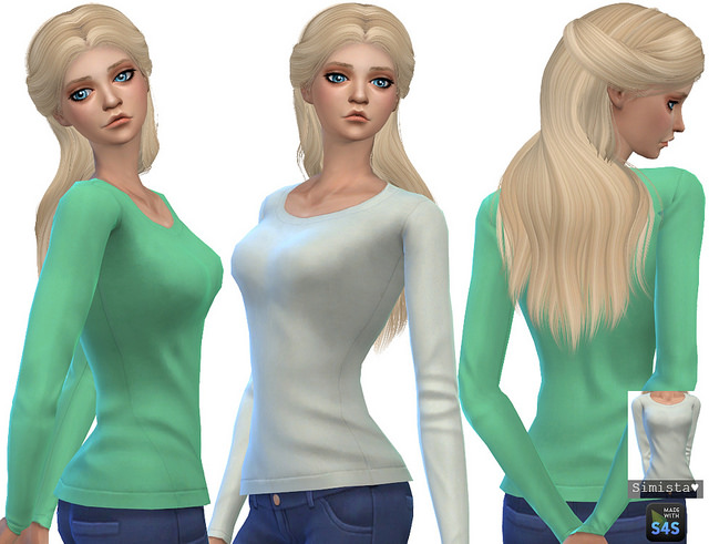 Simple Sweaters at Simista image 172 Sims 4 Updates