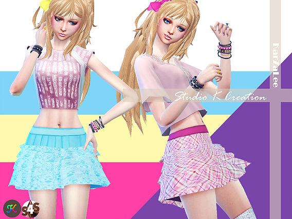 4Layer skirt at Studio K Creation image 1723 Sims 4 Updates
