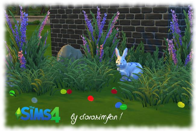 Sims 4 Easter set 1 by Dorosimfan1 at Sims Marktplatz