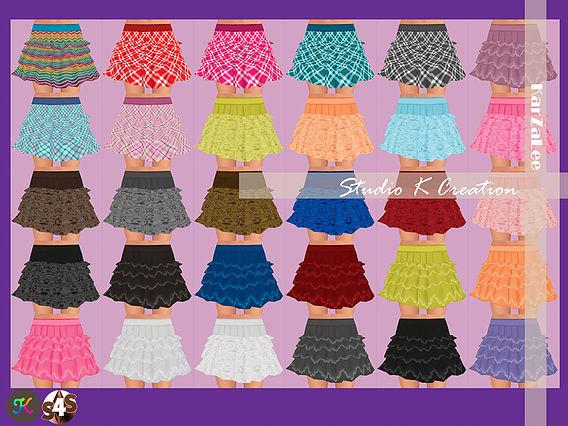 4Layer skirt at Studio K Creation image 1732 Sims 4 Updates