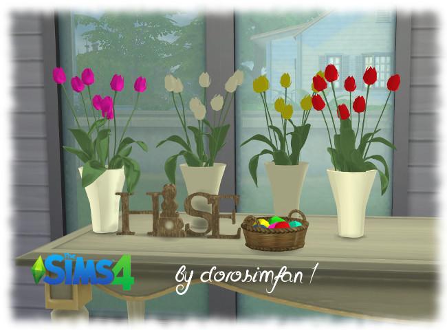 Sims 4 Easter set 2 by Dorosimfan1 at Sims Marktplatz