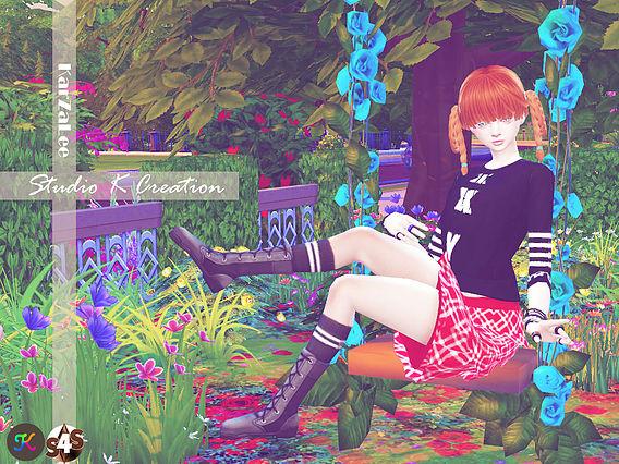 4Layer skirt at Studio K Creation image 1742 Sims 4 Updates
