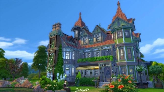 mystery victorian villa at jarkad sims 4 blog sims 4 updates. Black Bedroom Furniture Sets. Home Design Ideas