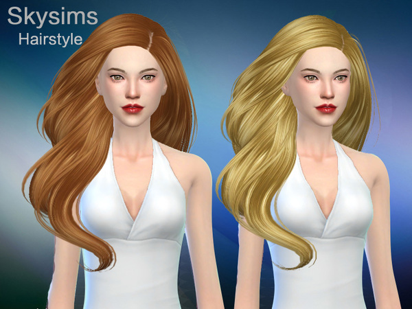 Sims 4 Grace hair 285 by Skysims at TSR