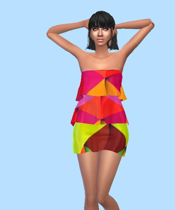 Sims 4 Fashion Dress at Sims Fashion01
