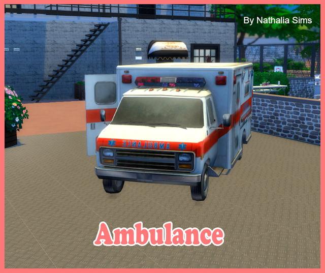 Ambulance at Nathalia Sims image 176 Sims 4 Updates
