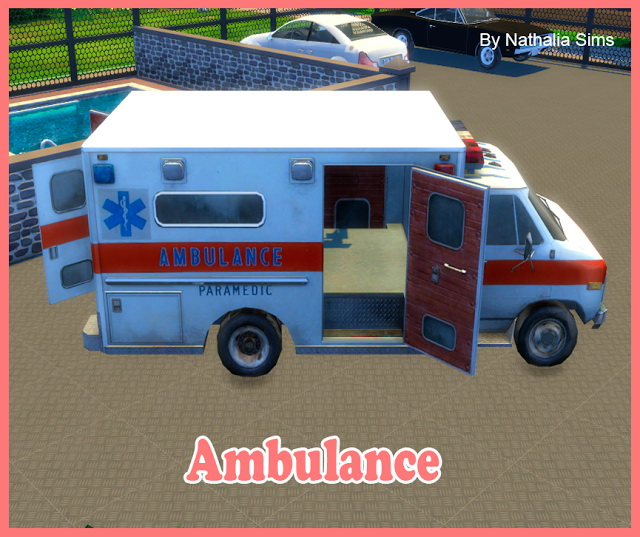 Ambulance at Nathalia Sims image 177 Sims 4 Updates