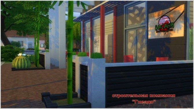 Wasabi Japanese restaurant at Sims by Mulena image 1784 670x379 Sims 4 Updates