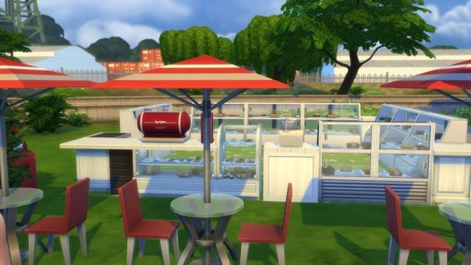 Sims 4 Café Minimalism only at Hafuhgas Sims Geschichten