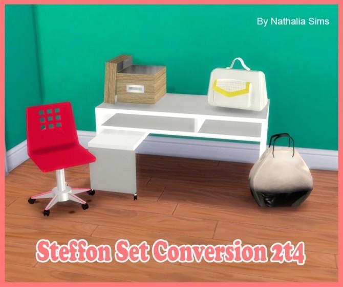 Sims 4 Steffor Set Conversion 2t4 at Nathalia Sims