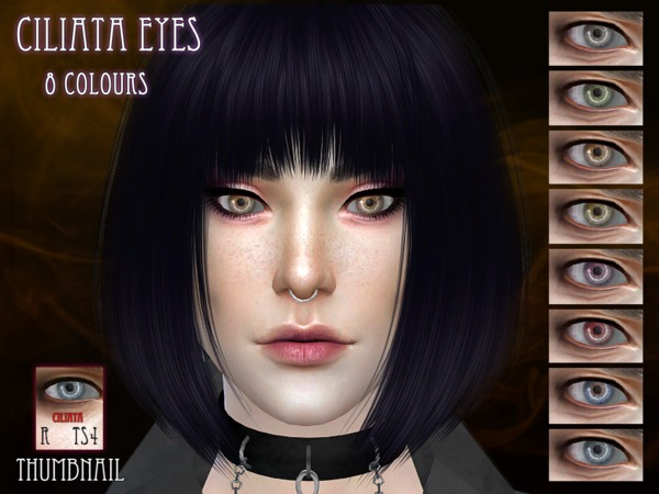 Sims 4 Ciliata Eyes by RemusSirion at TSR