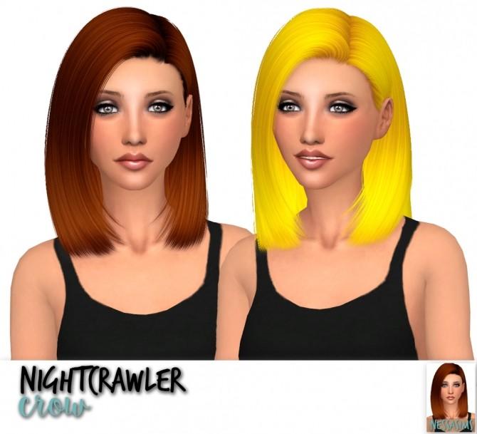 Sims 4 Nightcrawler Crow + Naomi + Pearl at Nessa Sims
