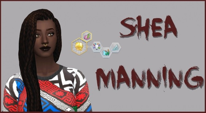 Sims 4 SHEA MANNING at Sourwolf Sims