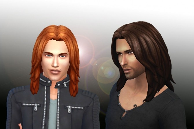 Sims 4 Dynamic Hair for Men by Kiara Zurk at My Stuff