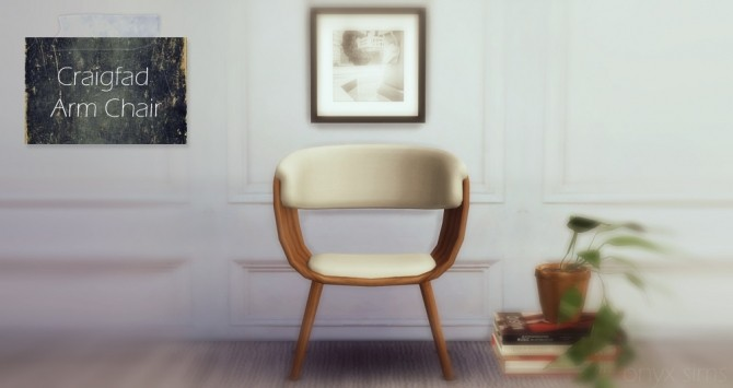 The Craigfad Armchair at Onyx Sims image 19110 670x355 Sims 4 Updates