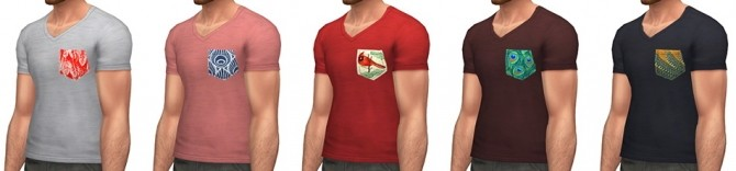 Plumage T shirt at Simsontherope image 19213 670x156 Sims 4 Updates