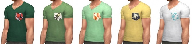 Plumage T shirt at Simsontherope image 19311 670x156 Sims 4 Updates