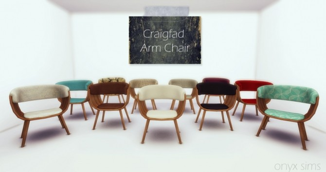 The Craigfad Armchair at Onyx Sims image 1935 670x354 Sims 4 Updates