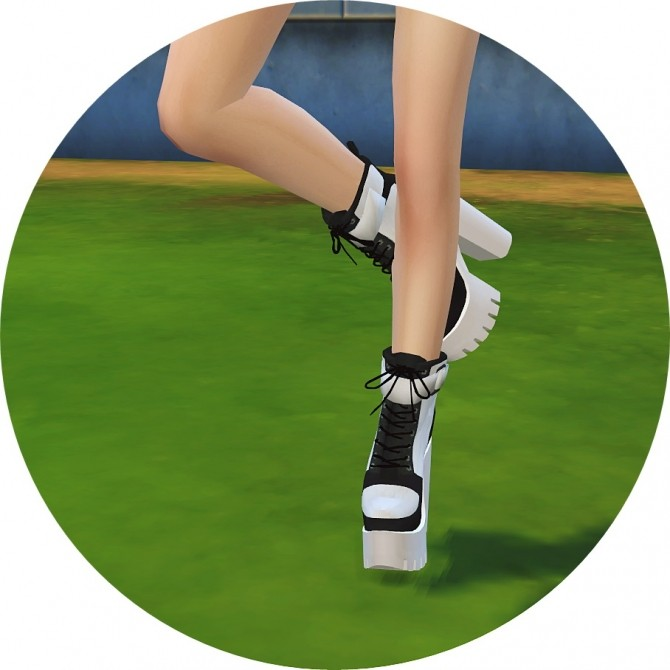 Chunky Sneakers Heels at Marigold image 1938 670x670 Sims 4 Updates