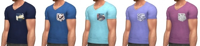 Plumage T shirt at Simsontherope image 19411 670x156 Sims 4 Updates