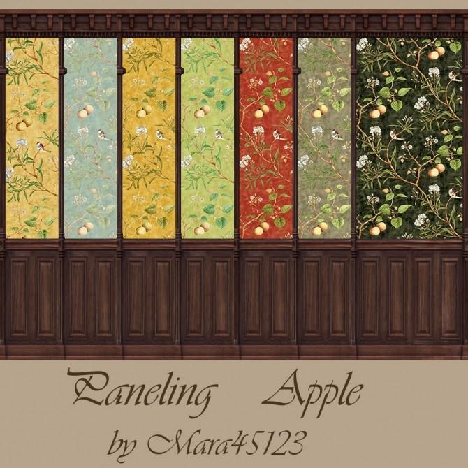 Sims 4 Paneling Apple at Mara45123