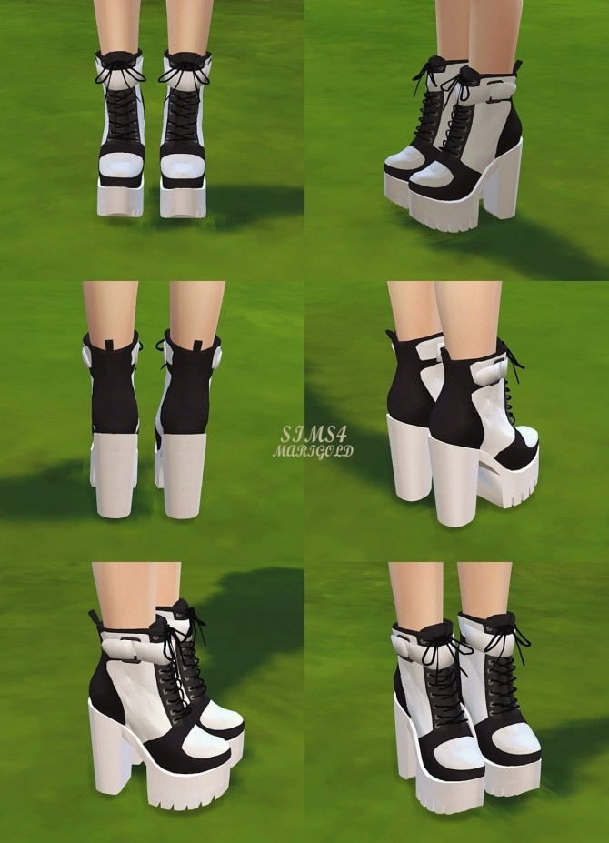 Chunky Sneakers Heels at Marigold image 1949 670x927 Sims 4 Updates