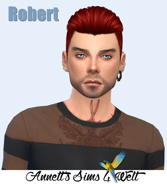 Sims 4 Model Robert at Annett's Sims 4 Welt