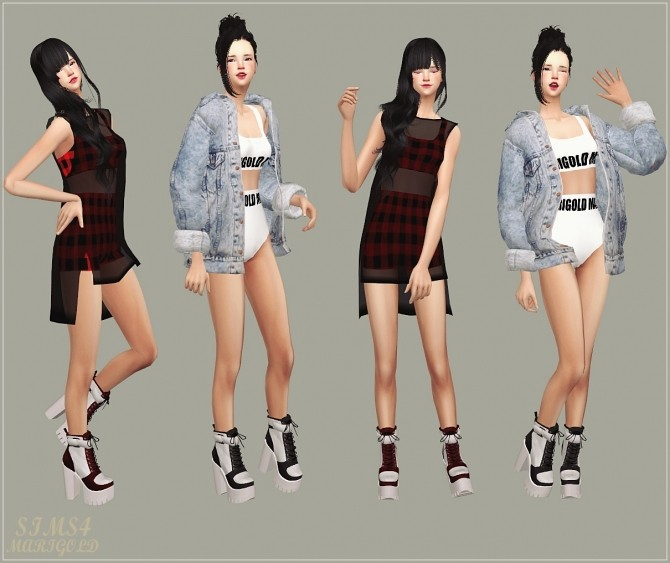Chunky Sneakers Heels at Marigold image 1969 670x563 Sims 4 Updates