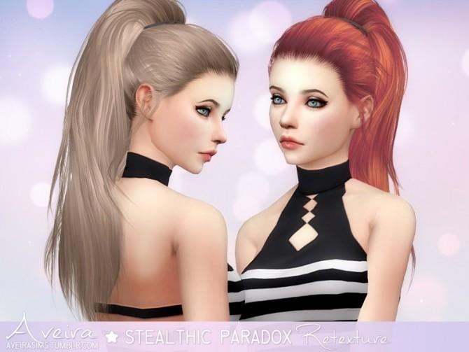 Sims 4 Stealthic Paradox Hair Retexture at Aveira Sims 4