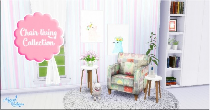 Sims 4 Chair Living Collection at Victor Miguel