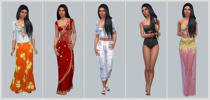 Sims 4 Zara (Зара) at Sims by Severinka