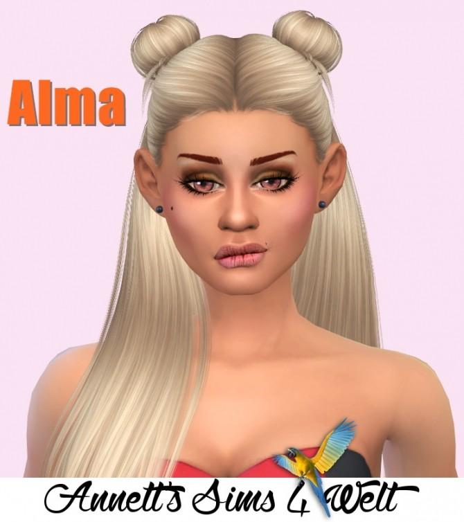 Sims 4 Alma at Annett's Sims 4 Welt