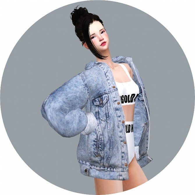 ACC Vintage Denim Jacket at Marigold image 2068 670x670 Sims 4 Updates
